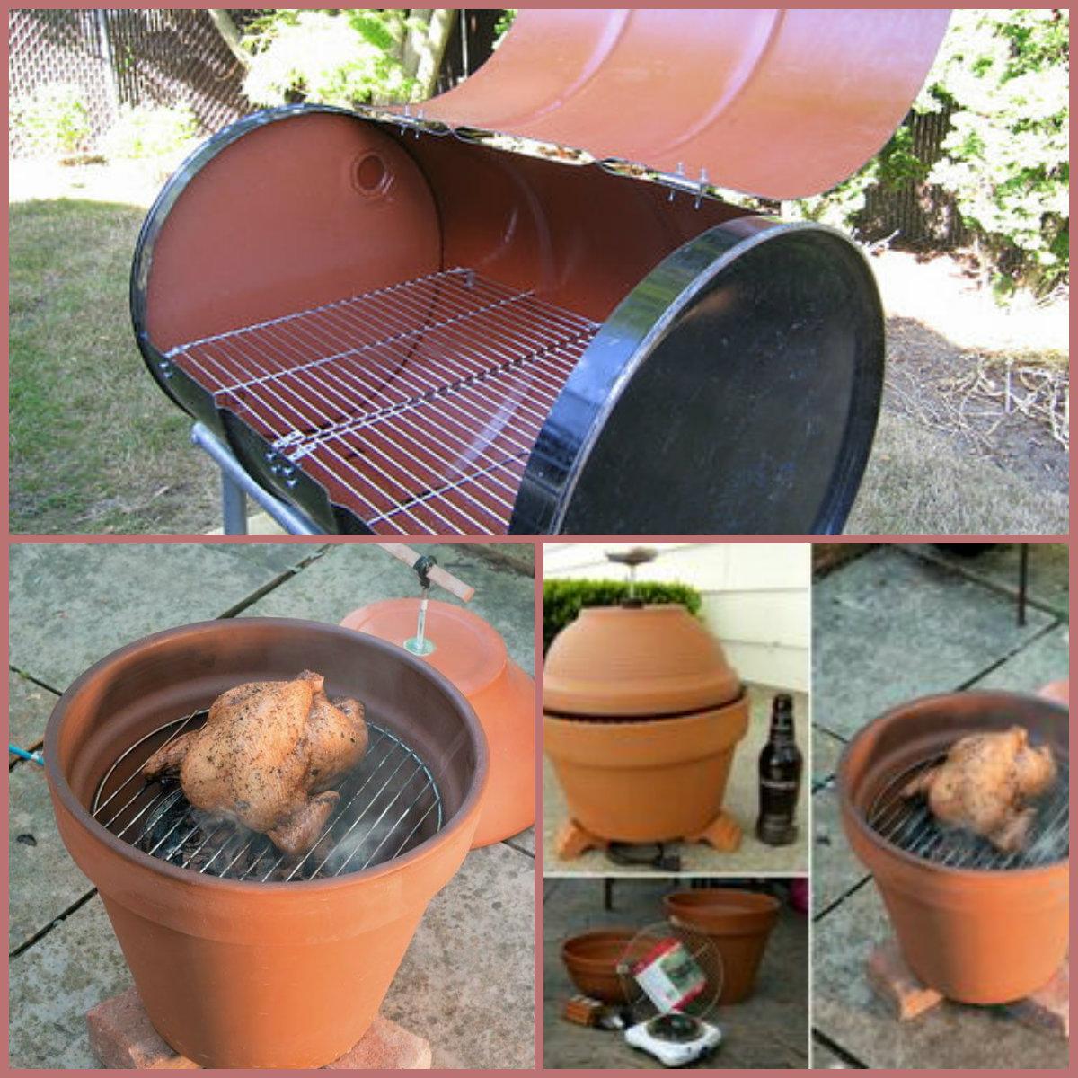 Tantissime idee per un barbecue fai da te for Bbq affumicatore fai da te