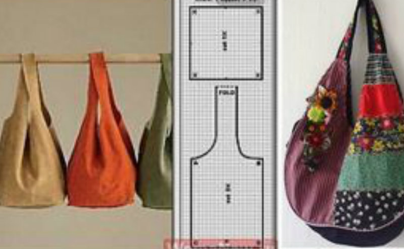 Tantissimi tutorial per borse fai da te cartamodelli per for Porta borse fai da te
