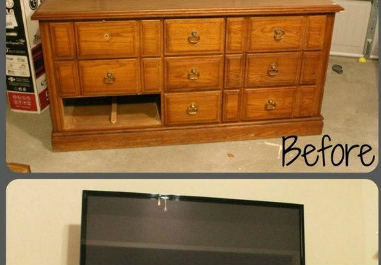 Tante soluzioni geniali per rinnovare vecchi mobili - Rinnovare mobili ...