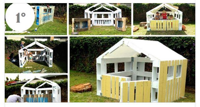 4 idee per costruire un casetta con i pallet for Come costruire la propria casa a basso costo