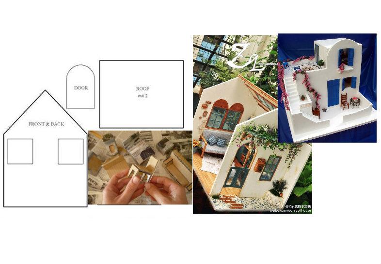 Tante idee per creare case per le bambole in maniera for Creare case