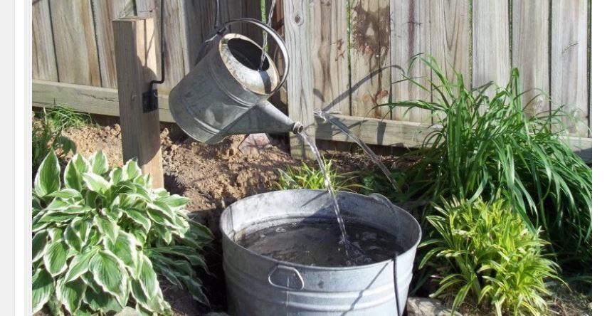 Eccovi 23 semplicissime idee con relativi tutorial per creare la propria fontana da giardino in - Fontane da giardino usate ...