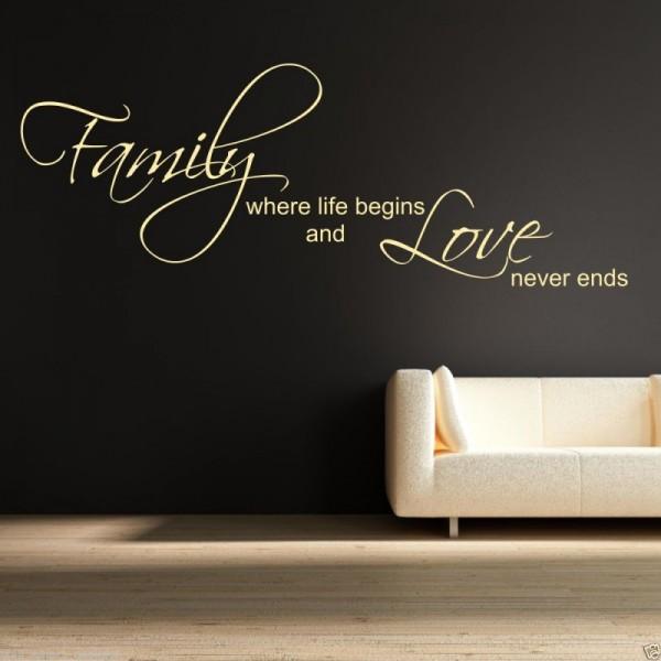 Ecco come abbellire le pareti di casa con gli sticker la for Scritte in legno da parete