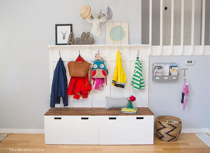 10 idee ikea originali e super economiche che salveranno il tuo ingresso di casa - Appendiabiti bambini ikea ...