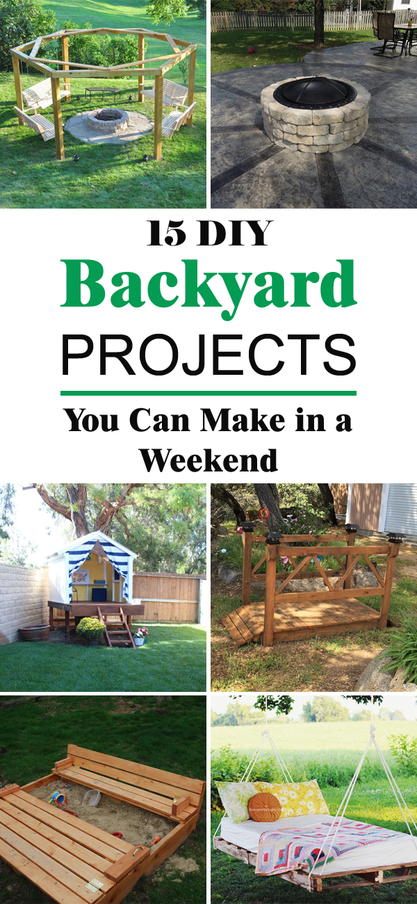 15 Progetti Fai Da Te Per Migliorare Il Giardino O Un