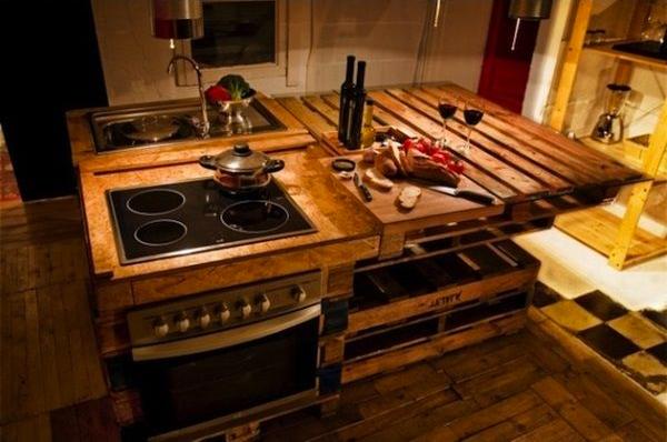 Arredare la cucina con i pallet eccovi 5 idee originali semplici ...