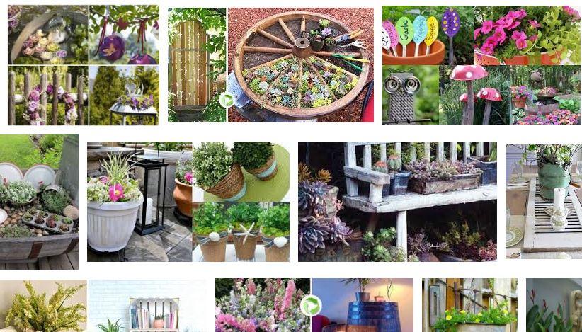 200 idee per decorare il giardino riciclando - Idee per decorare il giardino ...