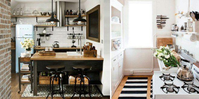 6 consigli indispensabili per arredare una cucina piccola for Idee per la casa piccola