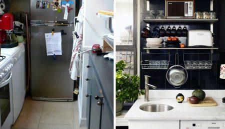 Idee intelligenti per tutti quelli che hanno una cucina piccola